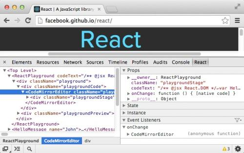 react devtools谷歌插件下载
